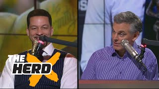 Chris Broussard on why it was right for Westbrook to win MVP, talks Paul George to Lakers | THE HERD