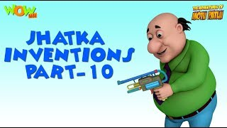 Doctor Jhatka Invention - Part 10 - Motu Patlu Compilation As seen on Nickelodeon