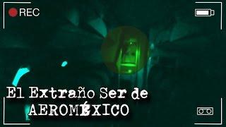 EXTRAÑO SER EN AVIÓN DE AEROMÉXICO CAPTADO EN VIDEO (Gente Sombra)