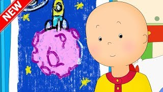Caillou is a Little Artist | Fun for Kids | Videos for Toddlers | Full Episode | Cartoon movie