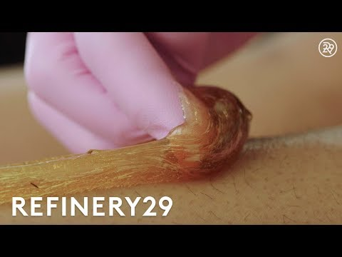 Why Sugaring Is The Best Type Of Hair Removal   Macro Beauty   Refinery29