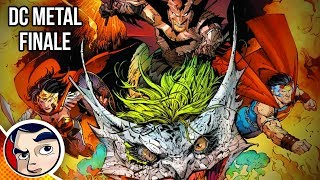 """DC Metal #6 """"Finale...End of the Multiverse"""" - Rebirth Complete Story"""