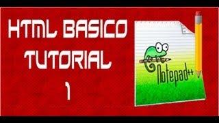 Curso ( html ) HTML Basico 2013  Introduccion encabezado y cuerpo Tutorial 1