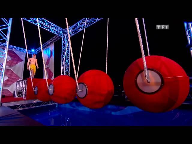 Sébastien Lequertier Demi-finale Ninja Warrior France 2016