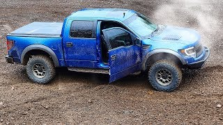 Raptor Instantly has Engine Issues, Off-Roading