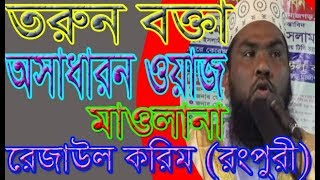 REZAUL KARIM RANGPURI, SM Islamic Video,NEW WAZ 2018,2018,NEW WAZ,
