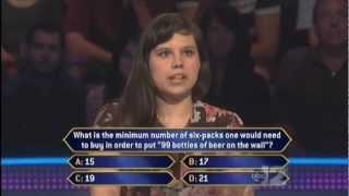 Millionaire - Math Is Hard. (Oct. 8, 2012)