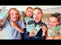 4 KIDS SPEND $2000 ANY WAY THEY WANT