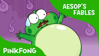 The Frog and the Cow   Aesop's Fables   PINKFONG Story Time for Children