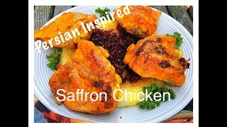 PERSIAN STYLE 10 MINUTE CHICKEN (  Zereshk Polo Ba Morgh)