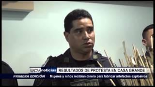 Casa Grande: Presentan resultados en distrito tras intensa protesta