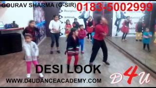 DESI LOOK - EK PAHELI LEELA -  BEST GROUP DANCE - INDIA - D4U DANCE ACADEMY EK PHELI LEELA