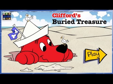 Clifford The Big Red Dog Clifford s Burried Treasure