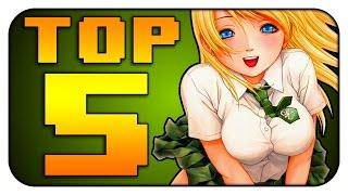 Top 5 GAME ANIME【Deutsch】