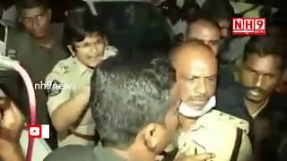 Chittoor SP Jayalakshmi Giving Warning To YSRCP MLA | NH9 News