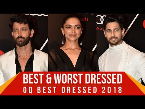 Xxx Mp4 Deepika Padukone Hrithik Roshan Sidharth Malhotra Best And Worst Dressed At GQ Best Dressed 2018 3gp Sex