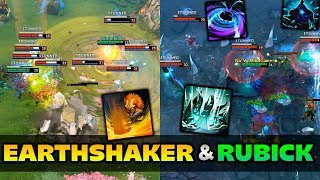 Dota 2 Earthshaker & Rubick Moments