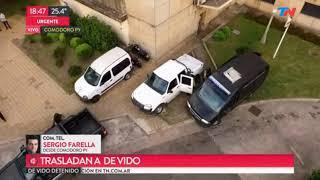 Así trasladan a Julio De Vido a la Cárcel de Ezeiza 25/10/2017