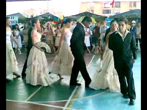 Baile Vals Encuentro Gastronomico UE Nuestra Señora de Lourdes