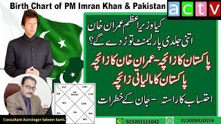 Birth Chart Of PM Imran Khan & Pakistan   Vedic Astrology   Urdu   Saleem Sami Astrology