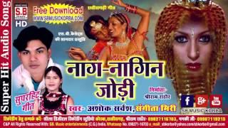 अशोक सर्वंश संगीता मिरी | नाग नागिन जोड़ी | Chhattisgarhi song new hit cg lok geet video song 2017