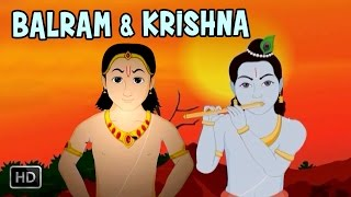 Balram & Krishna (Full Movie) - Childhood Of Lord Krishna and His Friend - Animated Stories for Kids