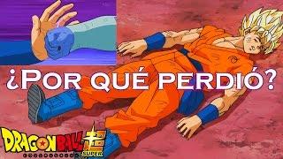 ¿Por qué Gokú perdió? | Dragon Ball Super Capítulo 33