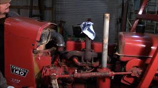 1979 Farmall 140 Water pump replacement part II