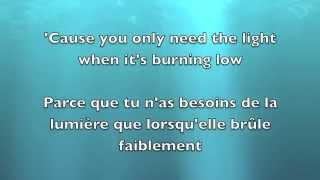 Let her go - Passenger Lyrics English/Français