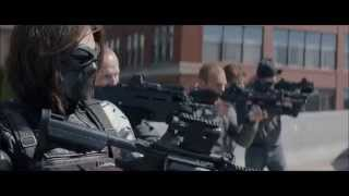 Captain America: The Winter Soldier - Clip: Highway Battle