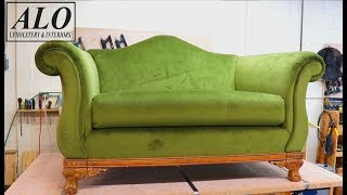 HOW TO REUPHOLSTER A SOFA - ALO Upholstrery