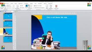 SMA Neg  5 Ternate Video tutorial Cara Membuat Slide Master  ( Rahmat Ude S.Pd)