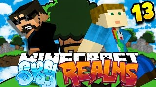 Minecraft: SKYREALMS | A NEW SKYWARS UPDATE?! [13]