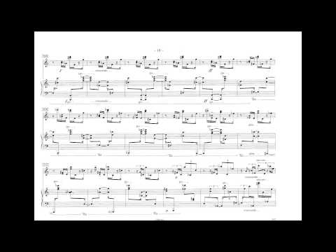 Philippe Hurel - Tombeau (w/ score) (for piano and percussion) (1999)