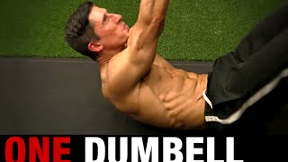 Home Ab Workout (ONE DUMBBELL NEEDED!)