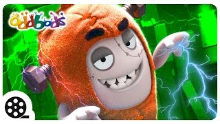 Oddbods | HORROR Sci Fi - Poltergeist | Spooky Cartoons For Children