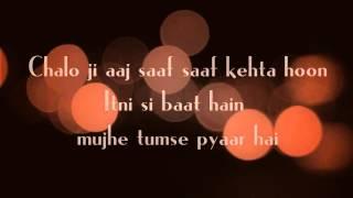 Itni Si Baat Hai Lyrics || Azhar || Arijit Singh, Antara Mitra