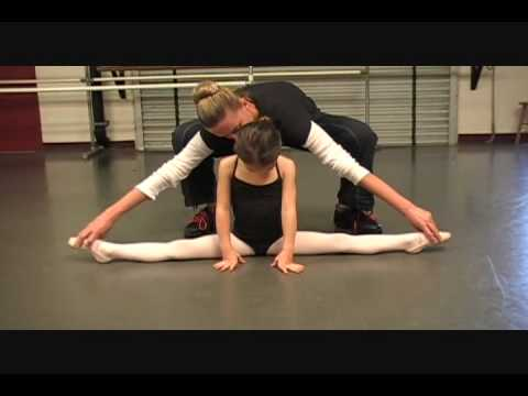 5 year old Kaylee doing Classical Ballet dance Russian Ballet trained Level 1 2