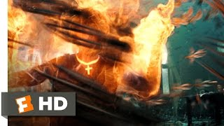 Hellboy 2: The Golden Army (2/10) Movie CLIP - Burn 'Em All! (2008) HD