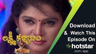 Lakshmi Kalyanam - Episode 11 (18 - Nov - 2016)