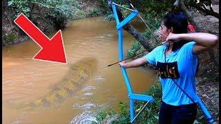 أخطر 7 حيوانات وجدوها بالصدفة في الأنهار !