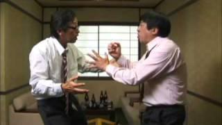 Pissing scene (japanese comedy movie)