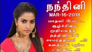 Nandhini serial 16/3/18 Full episode Review | Nandhini Serial today episode