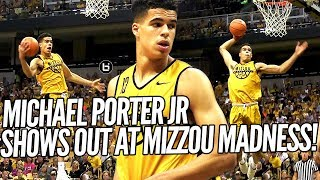 Michael Porter Jr Brings JAM & JELLY to Mizzou Midnight Madness!! Scrimmage Highlights!