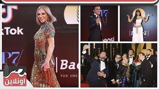 اطلالات النجوم بحفل افتتاح مهرجان القاهرة السينمائي