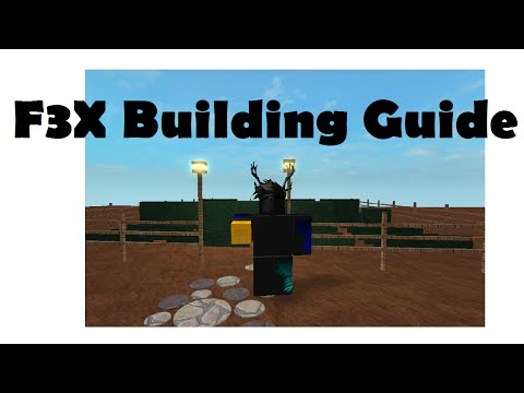 F3X Building Guide