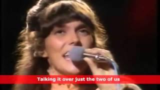 """We've Only Just Begun"" by Karen Carpenter (Music Video with Lyrics)"
