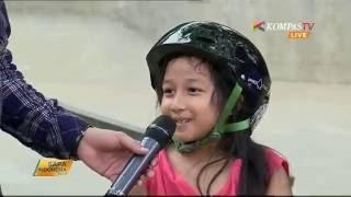 Perempuan 7 Tahun Ini Lincah Main