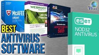 10 Best Antivirus Software 2017