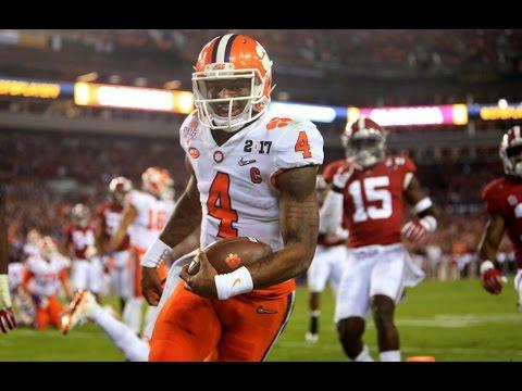 Clemson Tigers beat Alabama Crimson Tide 35 31 2017 College Football National Championship